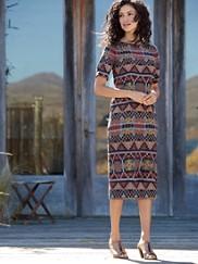 Stella Printed Dress