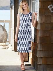 Arrow Stripe Dress
