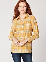 Meredith Plaid Shirt