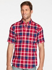 Short-sleeve Fitted Seaside Shirt