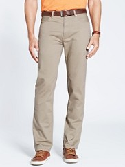 Five Pocket Twill Pants