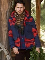 Ashland Jacquard Coat