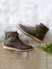 Waterproof Wingtip Boots