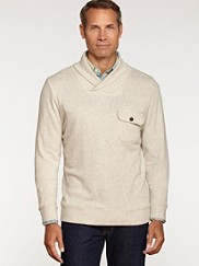 Shawl Collar Board Pullover