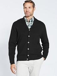 Shawl Collar Knit Jacket