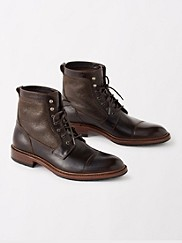 Lowell Shearling-lined Boots