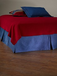 Denim Bedskirt