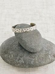 Sterling Silver Tepee Baby Bracelet