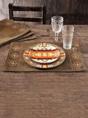 Faux Leather Placemats