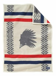 Heroic Chief Crib Blanket