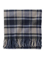 Eco-wise Lambswool Fringed Throw