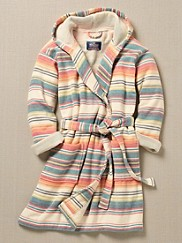 Casa Grande Stripe Hooded Bath Robe