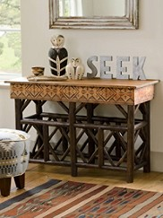 Diamond Desert Console Table