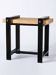 Iron Horse End Table