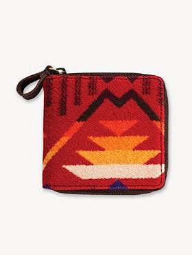 Coyote Butte Small Zipper Wallet
