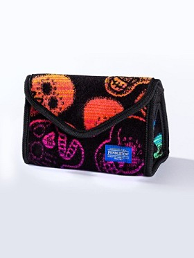 Sugar Skulls Small Cosmetic Case