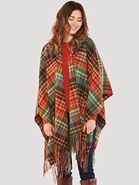 Hooded Blanket Shawl