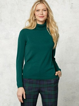 Washable Merino Classic Turtleneck