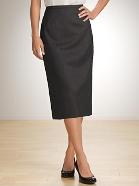 Seasonless Wool Lana Skirt