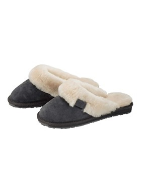 Sheepskin/suede Jolie Slippers