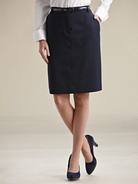 Seasonless Wool Trouser Skirt