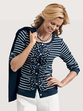 Wavemaker Stripe Cardigan