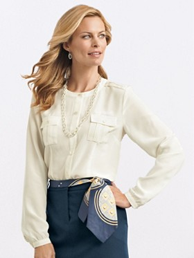 The Pearl Blouse