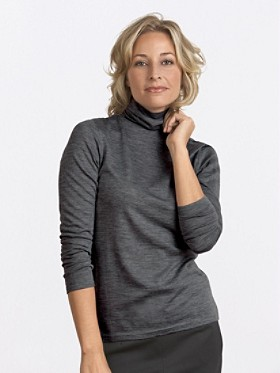Lightweight Merino Turtleneck
