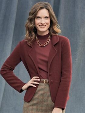 Bettina Boiled Wool Sweater