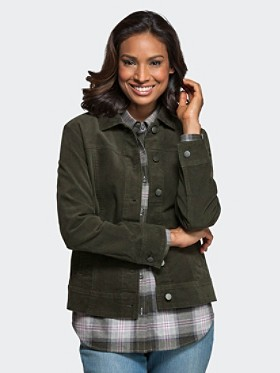 Cassidy Stretch Cord Jacket