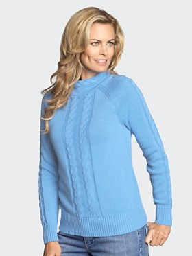 Cable Twist Pullover