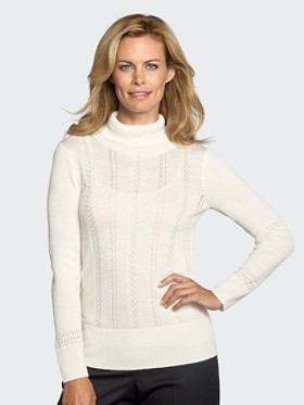 Halo Lace Turtleneck