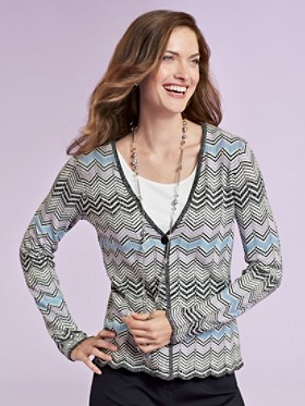London Twist Cardigan