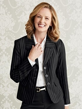 Piper Pinstripe Jacket
