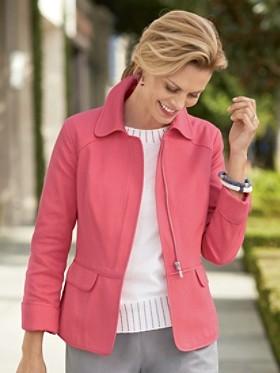 Pique Gloria Zip Jacket