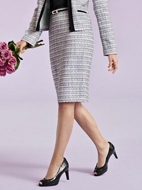Trafalgar Tweed Skirt