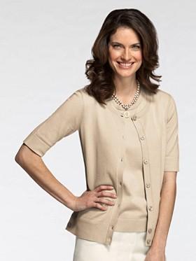 Silk-blend Miranda Cardigan