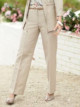 Linen-blend West Wind Pants
