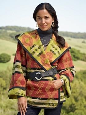 Reversible Sedona Wrap Coat
