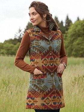 Juneau Jacquard Vest