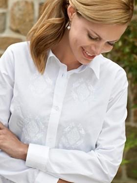 Needlework Embroidered Shirt