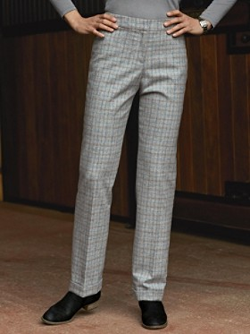 Tattersall Plaid Trousers