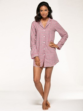 Sally Flannel Sleep Shirt