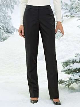 Ultra 9 Stretch Worsted Wool Slim Pants