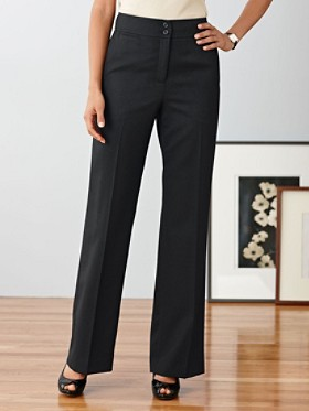 Seasonless Wool Chic Street Pants
