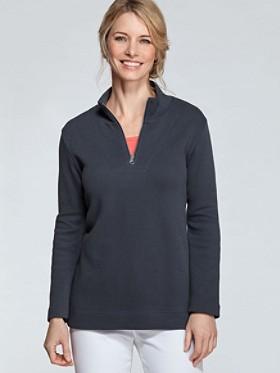 Quarter-zip Pullover
