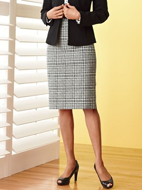 At Ease Pencil Skirt
