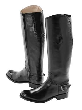 Tall Equestrian Street Boots