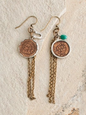 Lady Liberty Earrings