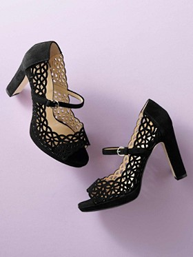 Karen Open-toe Platforms